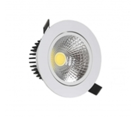 5 Watt Cob Led Beyaz Kasa ( Led Downlight )
